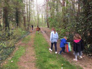 Paaseierenraap met kinderen