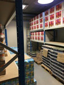 Januari 2016: Rotaract Ieper-Poperinge helpt voedselbank